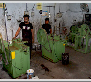 Spring Washers Machines Section